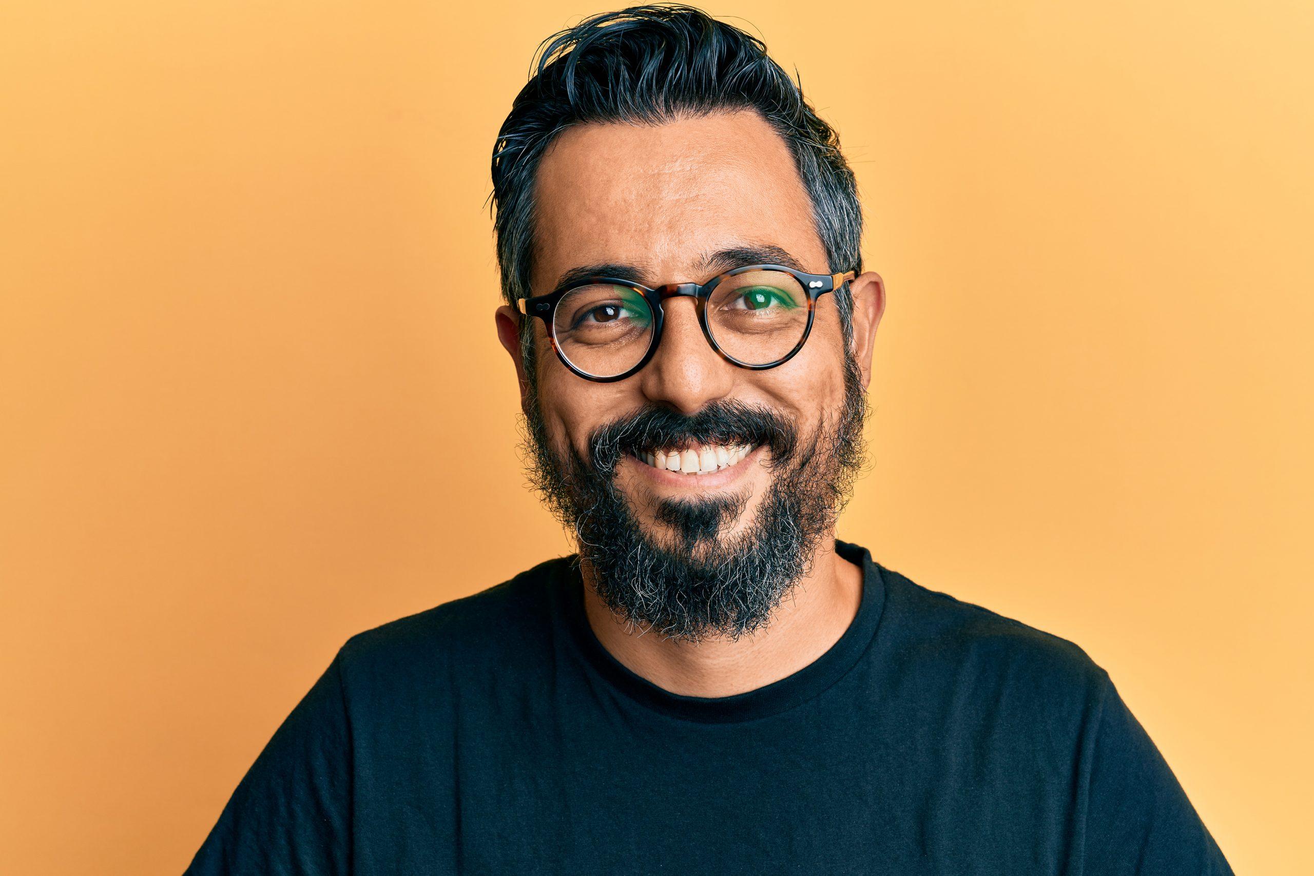 Portrait of Aaron Amat founder of Kraken Images